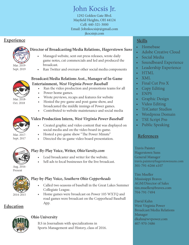 kocsis resume 10-19